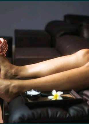 Массаж ног, массаж стоп.