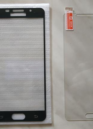 Стекла на Самсунг А5 (прозрачное) и А510 (чёрное)