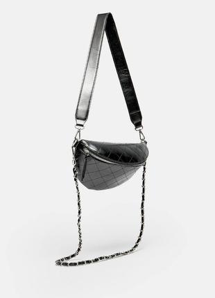 Новая сумка бананка из искусственной кожи stradivarius поясная...