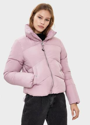 В наличии новая объемная куртка оверсайз bershka puffer стеганая