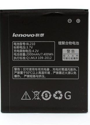 Аккумулятор для Lenovo S820 - BL210 2000 mAh