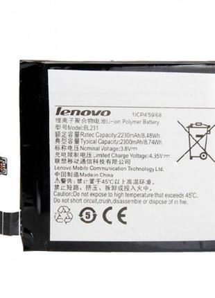 Аккумулятор для Lenovo Vibe X2 - BL231 2230 mAh