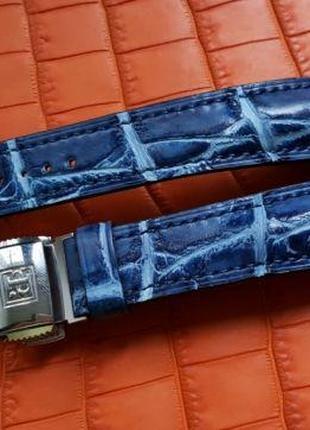 Ремешок для часов из крокодила BLANCPAIN PANERAI MONTBLANC DUBUIS