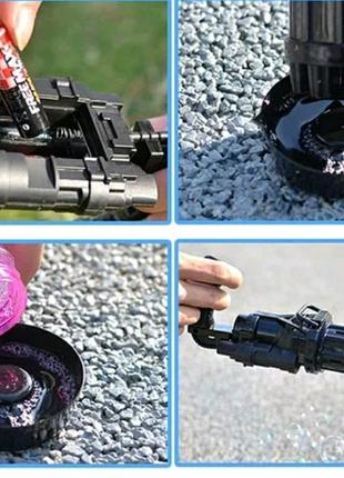 Пулемет из мыльных пузырей, BUBBLE GUN BLASTER машинка для пузыре