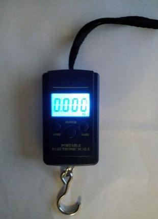 Ручные весы, кантор вес до 40 кг подсветка