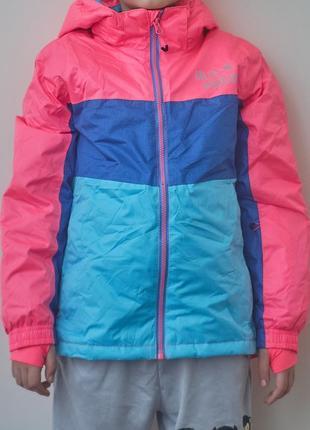 Супер яркая и стильная спортивная куртка crivit на ребенка. ка...