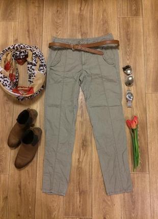 Стильные брюки-хаки calvin klein