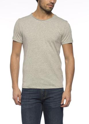 Серая мужская футболка lc waikiki / лс вайкики