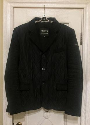 Классическая куртка мужская от armani, 56 р.