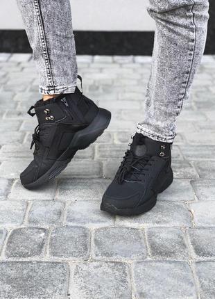 Nike huarache x acronym мужские зимние ботинки с мехом /осень/...