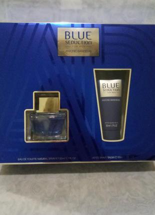Antonio banderas blue seduction for men мужской парфюмированны...