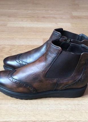 Кожаные ботинки челси ara германия 38 размера в отличном состо...