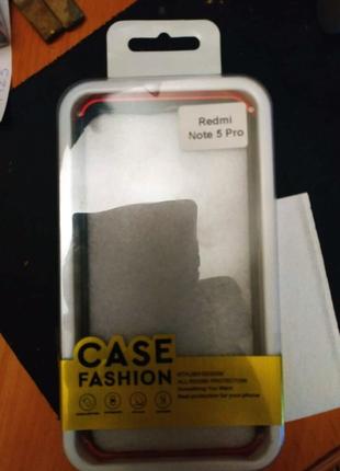 Стильный чехол - Бампер для Xiaomi Redmi Note 5