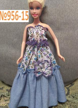 Платье на куклу Барби и ей подобных