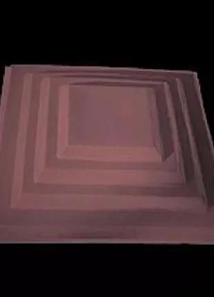 Крышки на кирпичные столбы забора «КАСКАД» 400х400