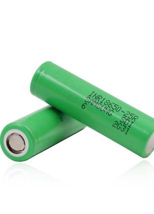 Аккумулятор Samsung 25R 18650 2500 mah (20А)