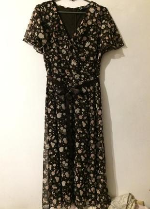 Joanna hope шифоновое платье сукня сарафан