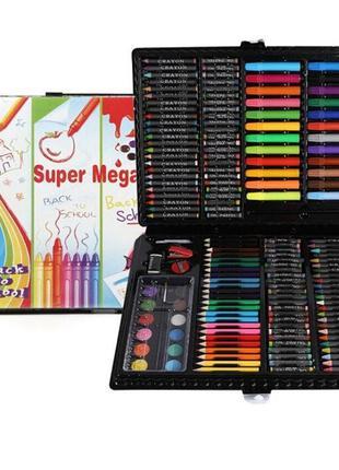 Набор для творчества Super Mega Art Set 228 предметов (Black) ...