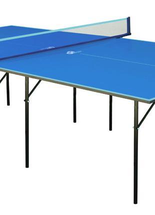 Теннисный стол для помещений Hobby Light (Синий) | Складной ст...