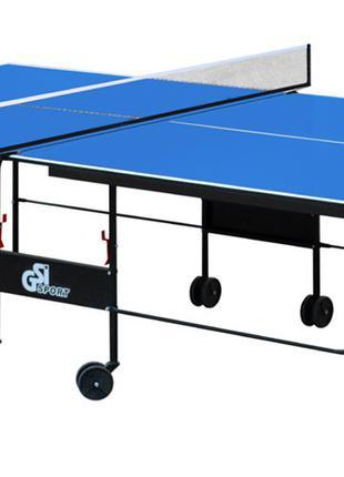 Теннисный стол для помещений Athletic Strong (Синий) | Складно...
