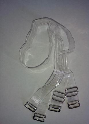 Бретельки качественные силиконовые nbc, металлические крючки