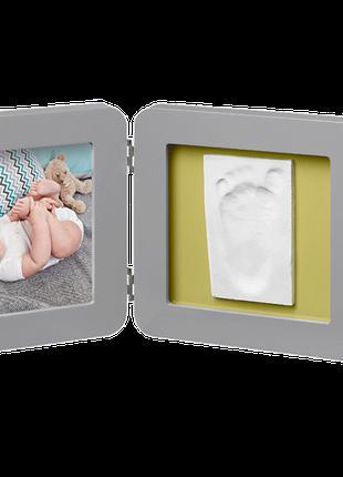 Набор для создания отпечатка ручки и ножки малыша Двойная рамк...