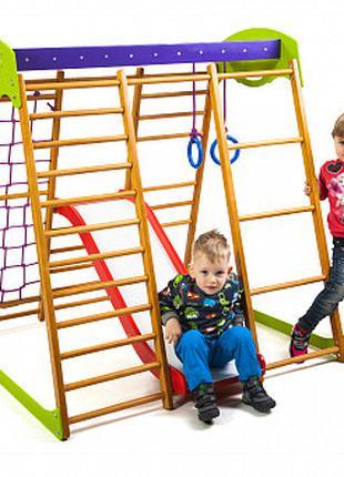 Детский спортивный комплекс для квартиры Карамелька Plus 1