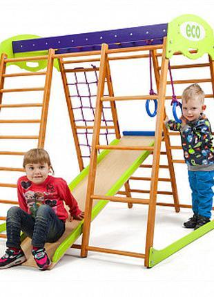 Детский спортивный комплекс для квартиры «Карамелька мини» Spo...