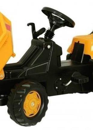 Самосвал rollyKid Dumper JCB, Rolly Toys (желтый)