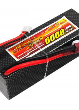 Аккумулятор Dinogy Li-Pol 6000mAh 14.8V 4S 30C Hardcase 41x40x...