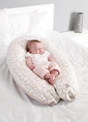 Подушка Jane 3-в-1 для беременных и кормящих XXL Rocks