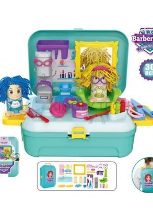 """Набор для лепки """"Парикмахерская"""" Barber shop Hairdresser toy И..."""