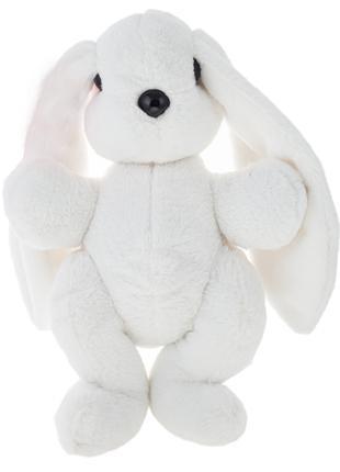 Кролик 37 см Алина Белый