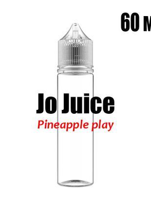 Ароматизатор пищевой Jo Juice Pineapple play 0 мг 60 мл Ананас...