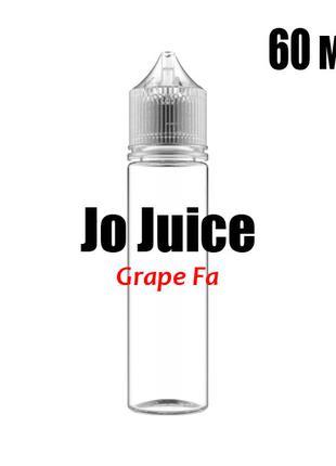 Ароматизатор пищевой Jo Juice Grape Fa 0 мг 60 мл Виноградная ...