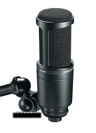 Микрофон студийный  АТ2020 (audio-technika)