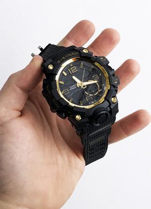 Часы наручные G SHOCK GG-100B. Цвет: золотой, красный, платиновый