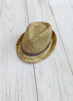 Шляпа натуральная соломенная / челентанка