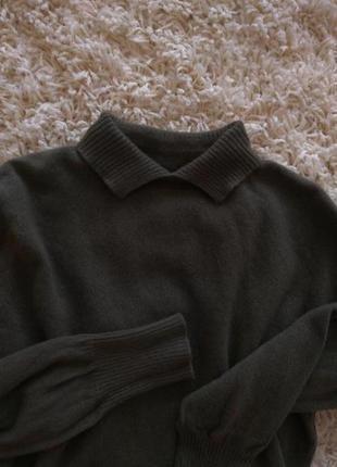 Кашемировый свитер 100%кашемир шотландия