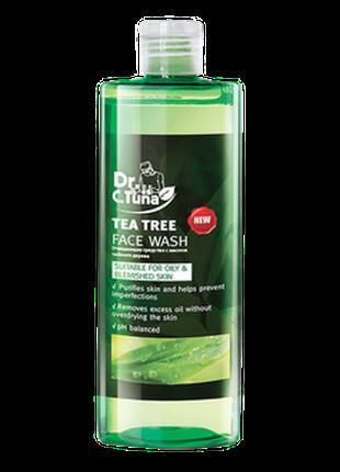 Очищающий гель для умывания с маслом чайного дерева Dr. Tuna Farm