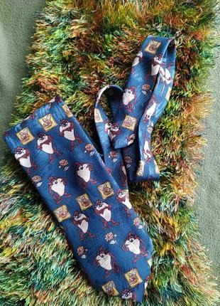 Мультяшный галстук подарок