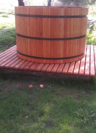 Купель бочка деревяна