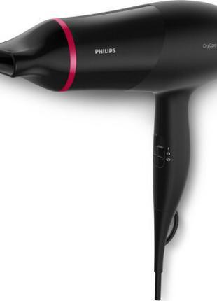 Фен Philips BHD029/00 черный 1600Вт с ионизацией
