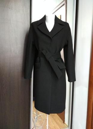 Осенне модное пальто season глория черного цвета
