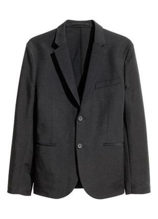 Пиджак черный класссика