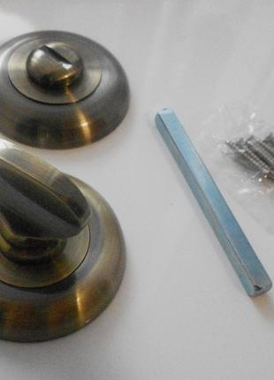 Защёлка накладка дверного замка WC