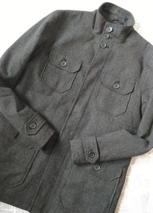 Классное утепленное пальто stanley adams