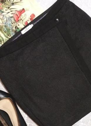 Шерстяная юбка tom tailor