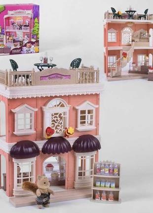 Тематический игровой набор домик для кукол Счастливая семья SD...