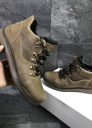 Мужские зимние ботинки. цена🔥
